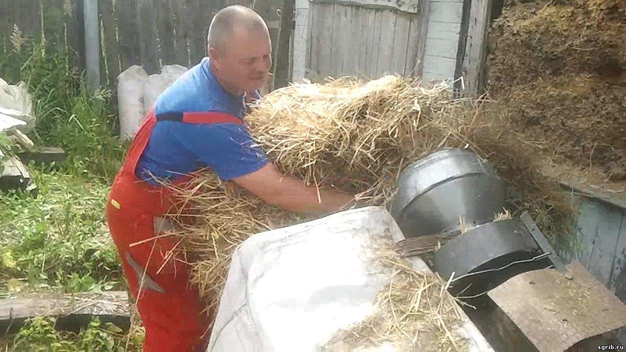 Измельчитель из газонокосилки своими руками 4